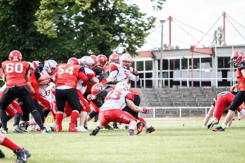 Cottbus Crayfish vs Spandau Bulldogs 1.6.19 - 8